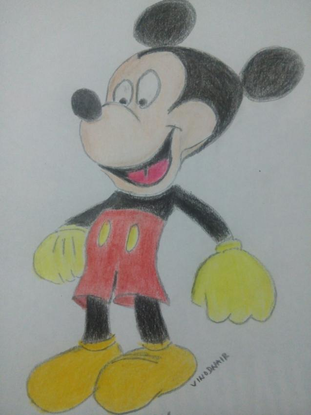 Mickey Mouse par vinodnair